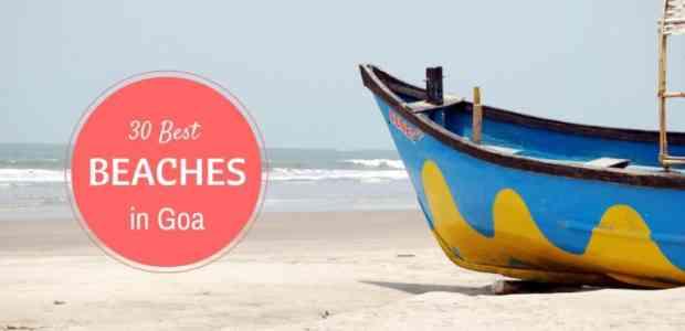 38 Goa Beaches ~ List of Best Beaches in Goa To Help You Decide