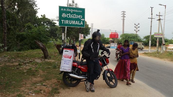 Pitstop at Tirupati