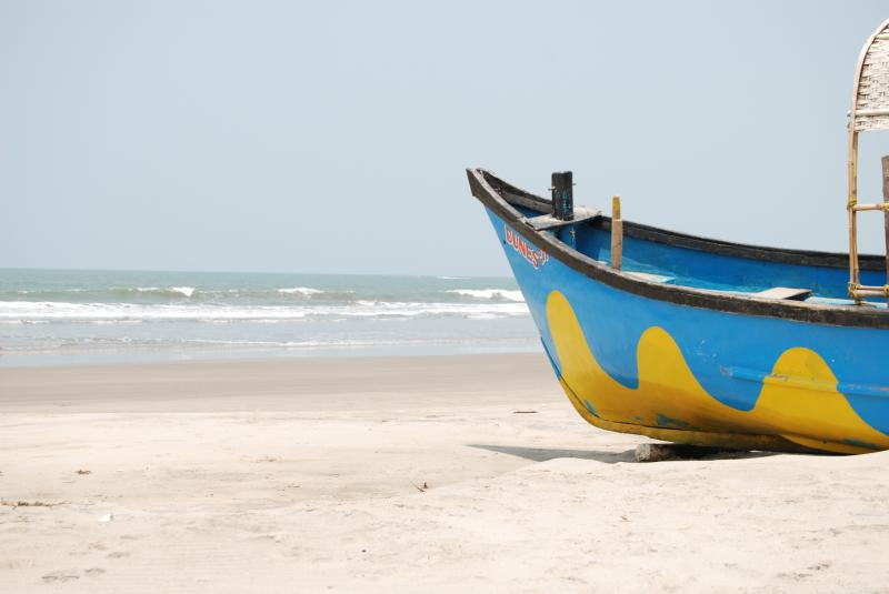 Mandrem Beach, Near Chopdem, Goa: best beach in Goa