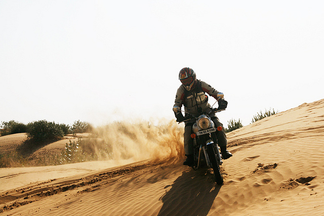 Dune Bashing in Rajasthan