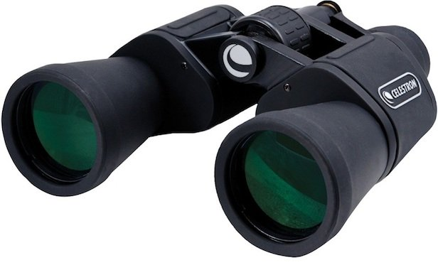 Binoculars, travel accessories