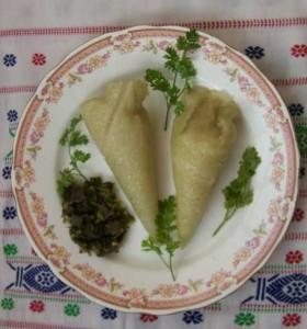 Wahan Mosdeng, Food of Tripura