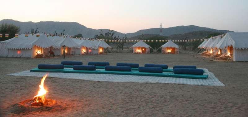 Orchard Tents – Pushkar_Holidify