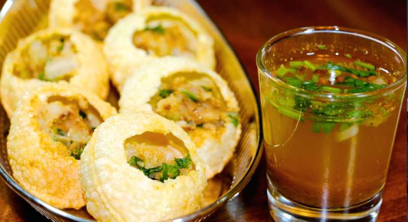 Golgappa at Chawla's and Nand?s, Street Food In Jaipur