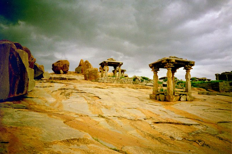Hampi ruins_  Safest Places in India for Solo Woman Travellers