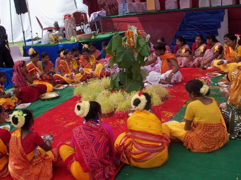 karam puja, Festivals of Assam