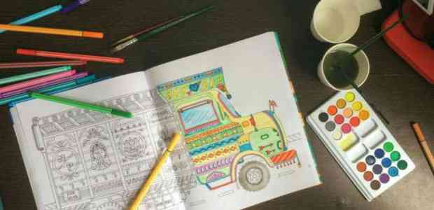 Paint the Town Red, Blue and Green: Around India in 40 Doodles
