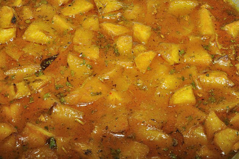 AlooJhol, Food of Uttarakhand