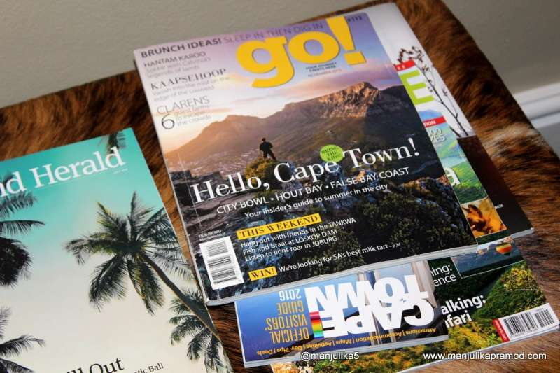 Cape town- magazines