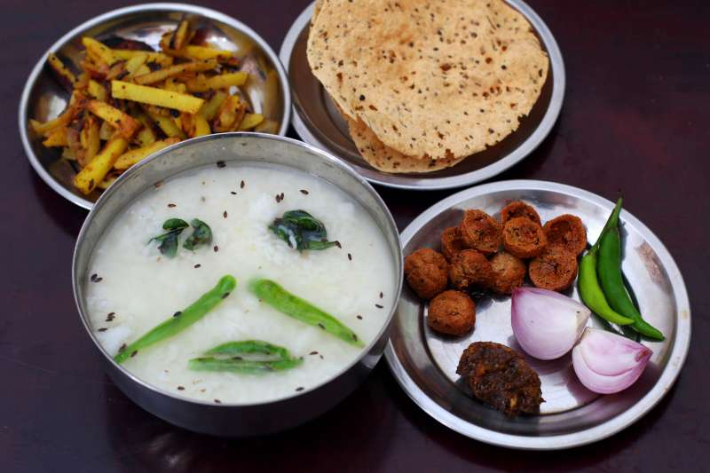 Pakhala Bhata, food of odisha