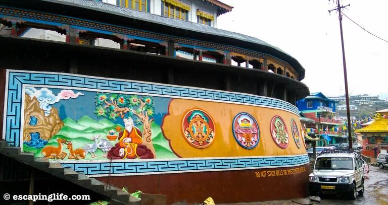 Tawang walls