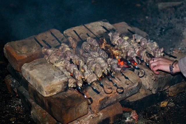Kebabs at Jameel