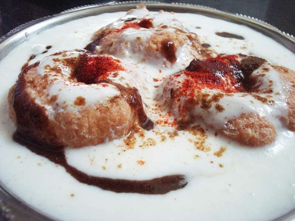 Dahi Bada, Indore famous food
