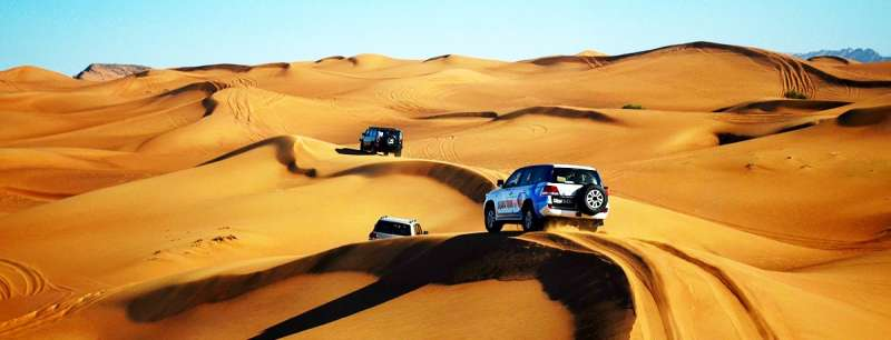 DUNE BASHING in Dubai, Top Adventure Activities In Dubai