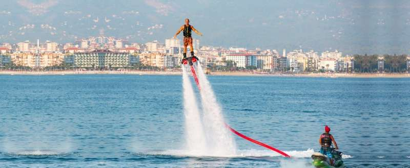 FLYBOARDING in Dubai, Top Adventure Activities In Dubai