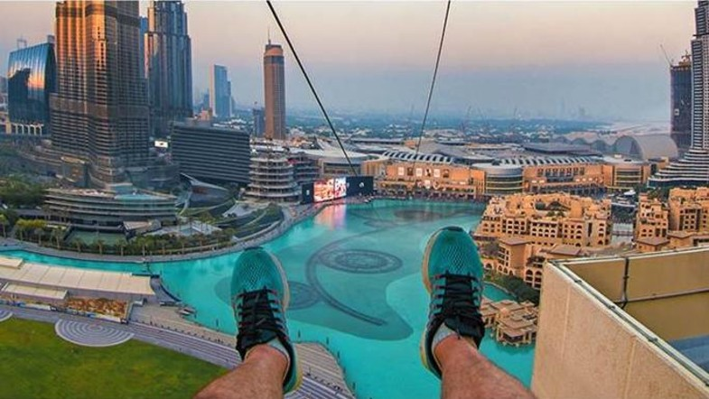 ZIP LINING in Dubai, Top Adventure Activities In Dubai
