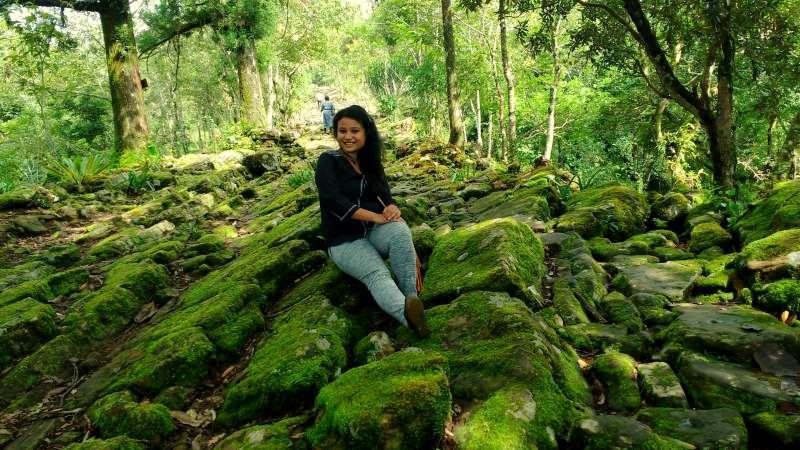 stony trail.