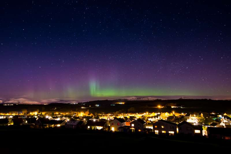 Aberdeen, Scotland, Best Places to see the Northern lights