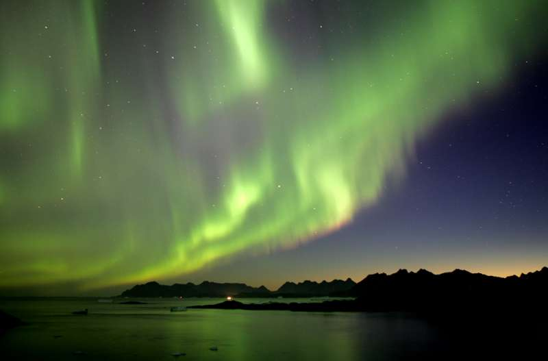 Kulusuk, Best Places to see the Northern lights