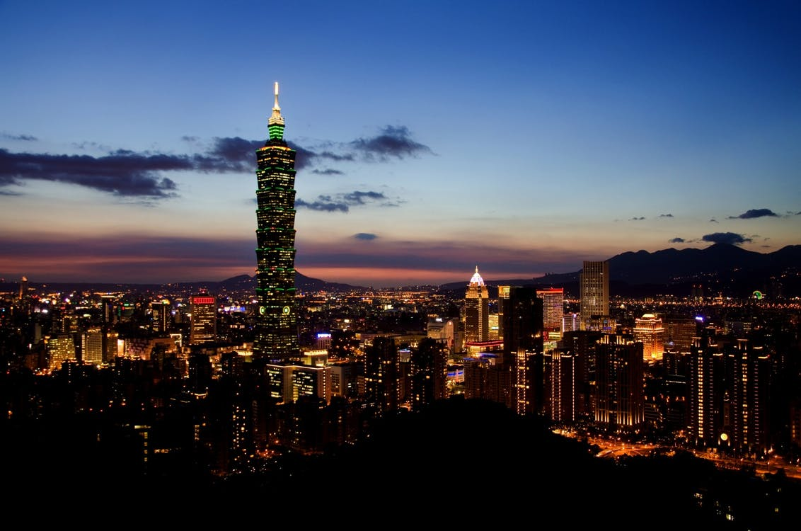 Taiwan, cheapest countries to visit from india