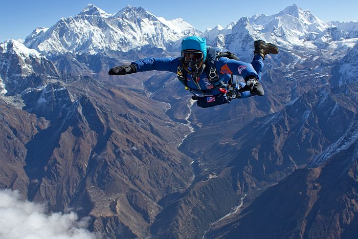 Everest skydiving, Best Places In The World To Go Skydiving,  Best Places To Skydive In The World