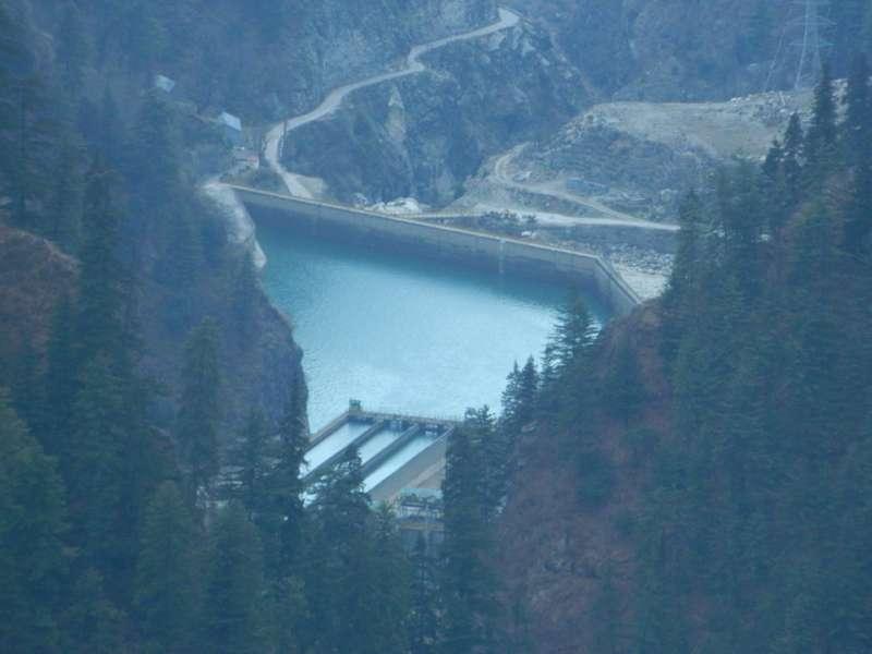 malana storage dam