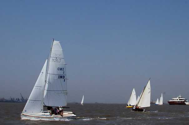 water sports in kerala, catamaran sailing