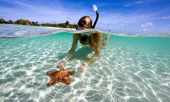 water sports in kerala, snorkelling