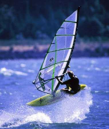 water sports in kerala, wind surfing