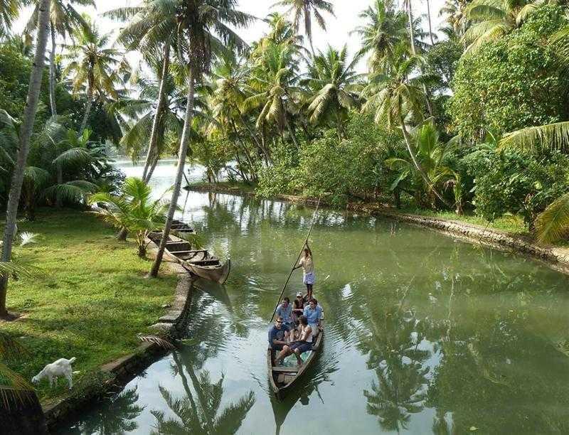 water sports in kerala, canoeing