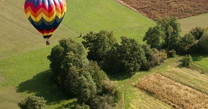 hot air ballooning in india, maharashtra