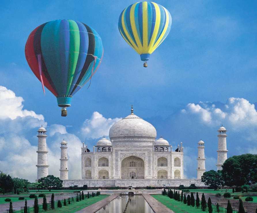 hot air ballooning in india,