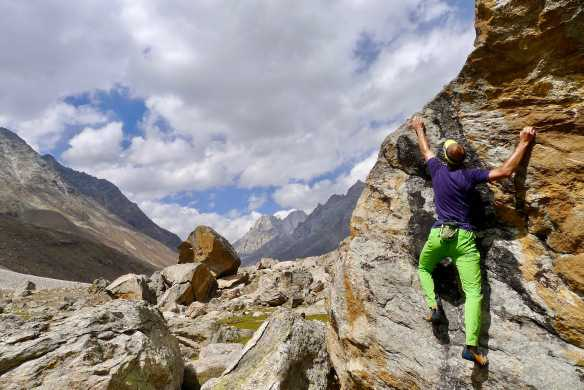 rock climbing in india, miyar valley