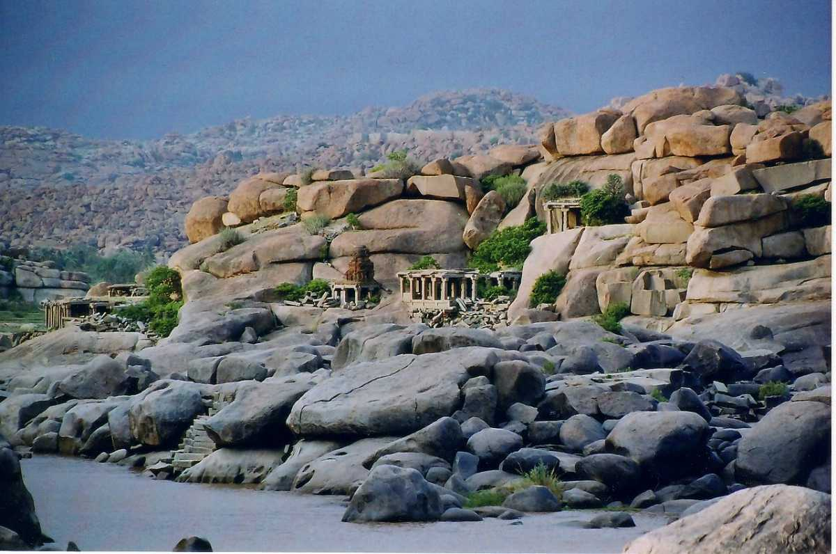 rock climbing in india, hampi