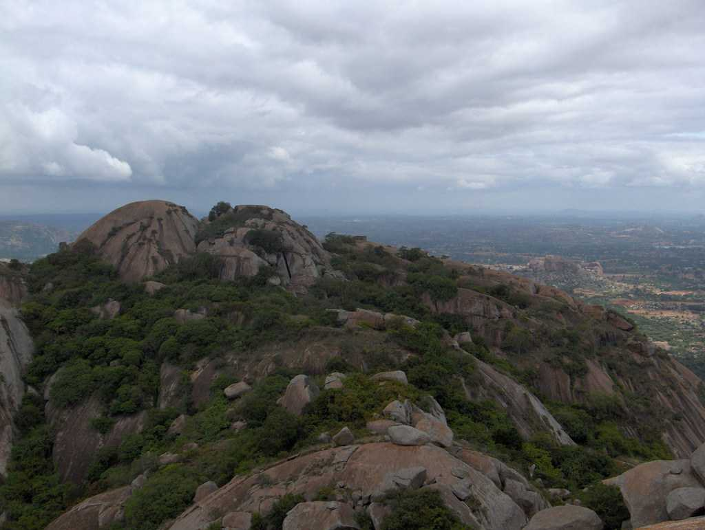 rock climbing in india, savandurga