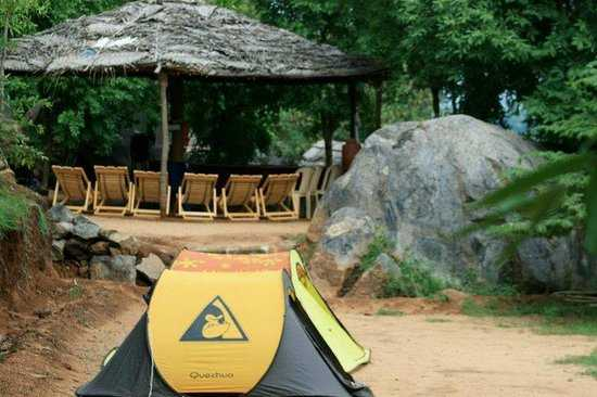 Manchinbele camping site near Bangalore