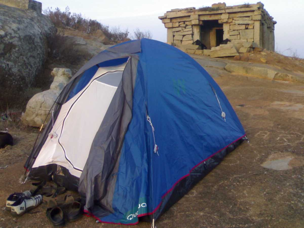 Camping at Savandurga, Camping sites near Bangalore