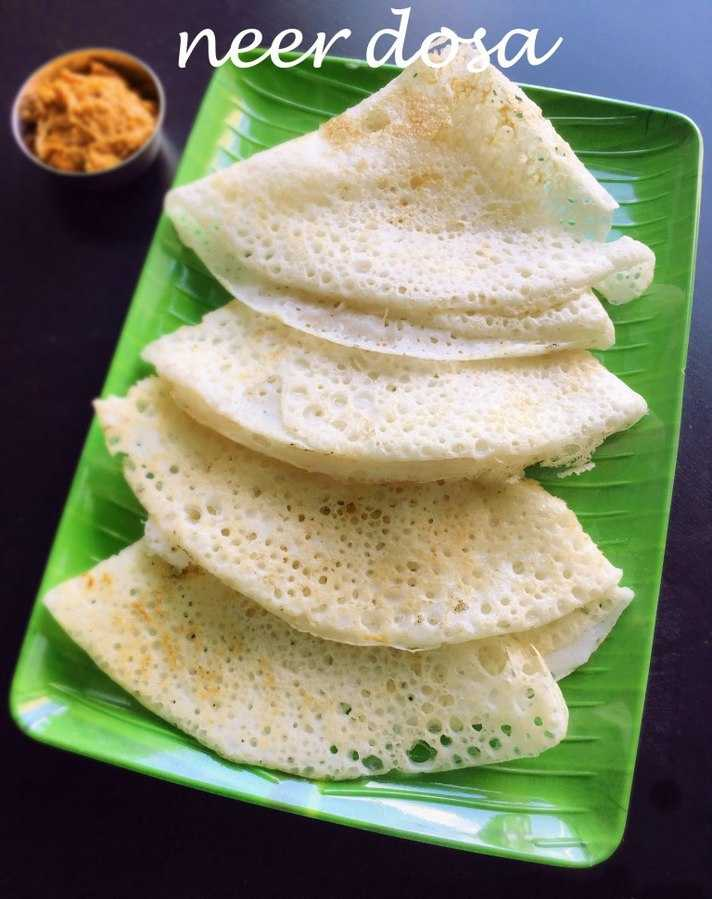 Food Of Karnataka, Neer Dosa