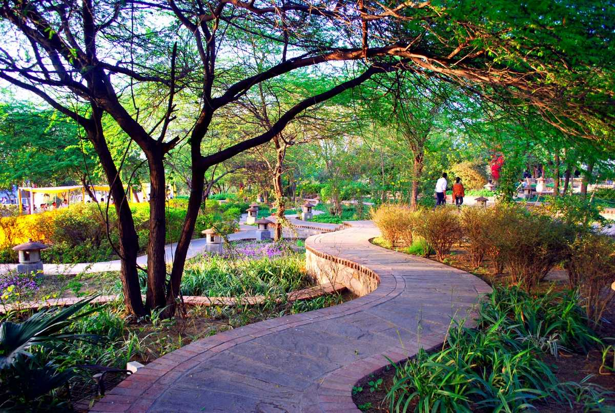 romantic places in delhi