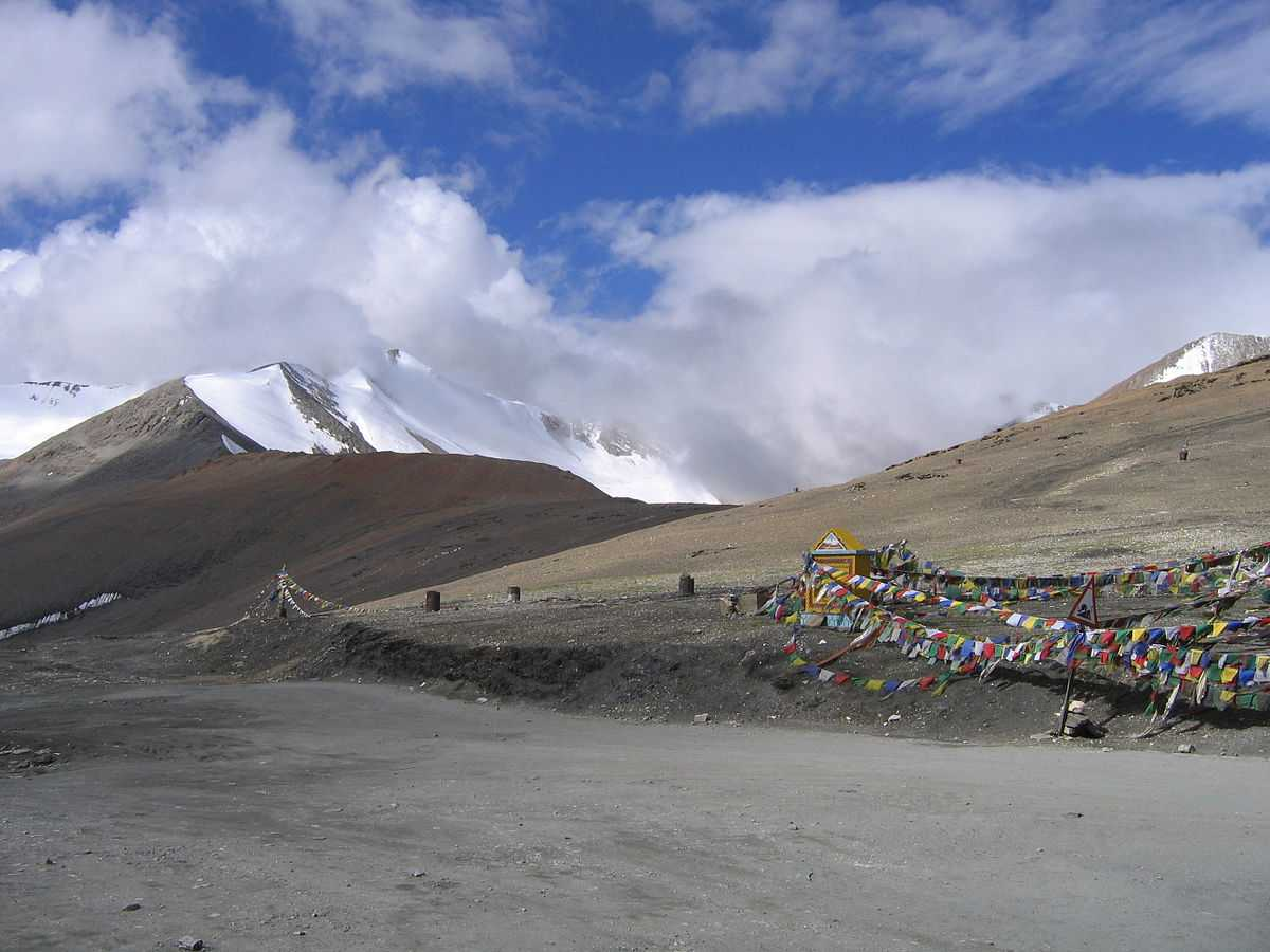 Tanglang La, Highest motorable roads in India