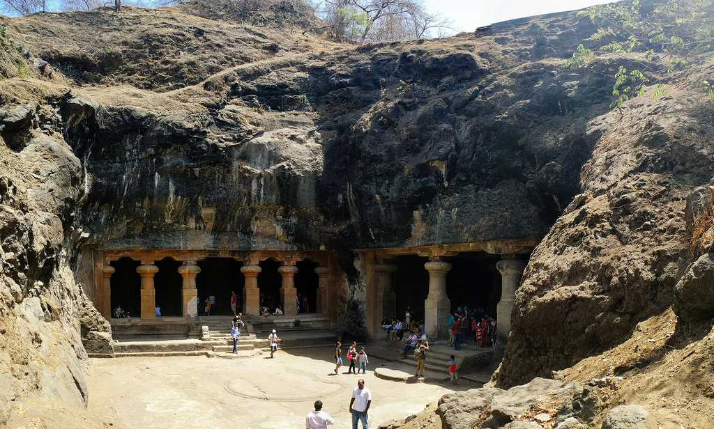 caves in india, elephanta caves