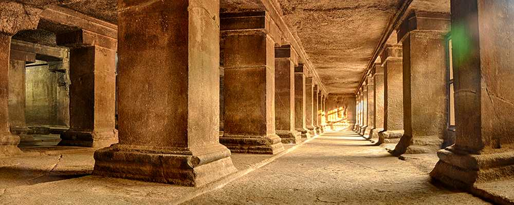 caves in india, pataleshwar caves