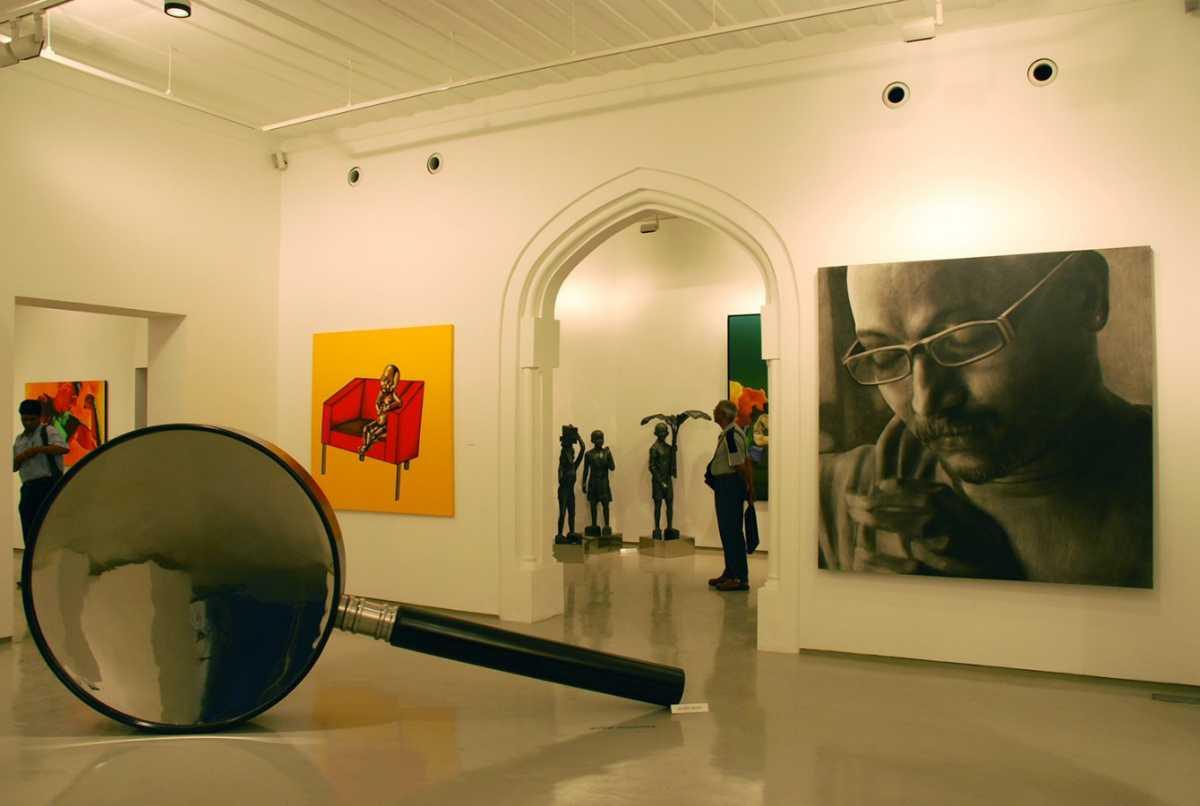 art galleries in mumbai, sakshi art gallery
