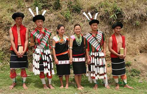 nagaland culture, nagaland traditional dress
