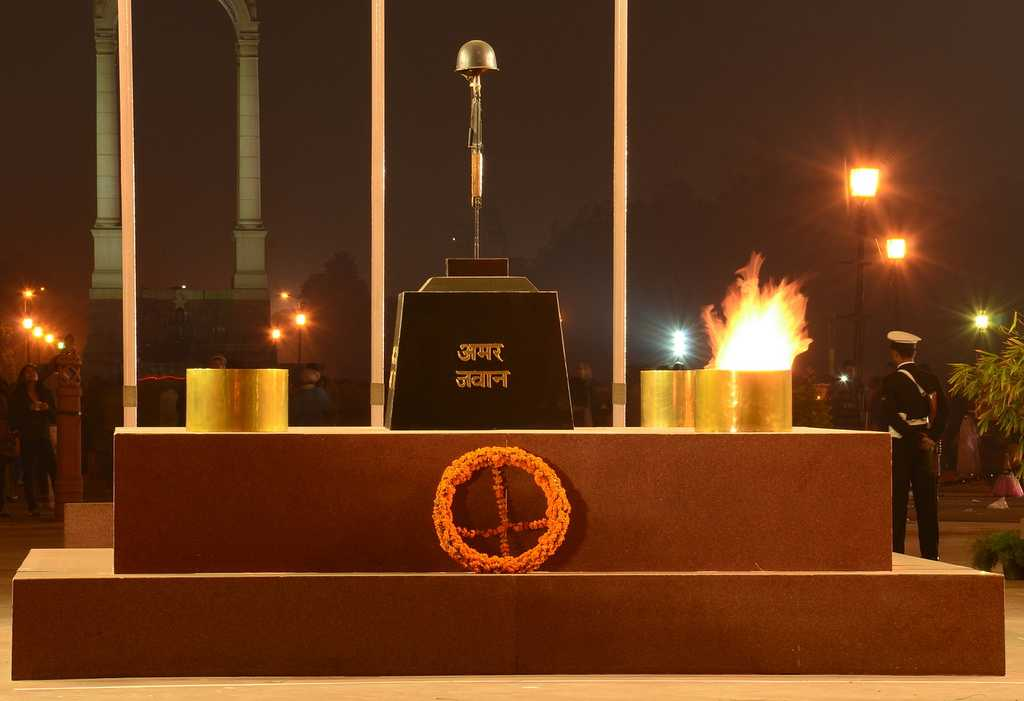 Image result for amar jawan jyoti