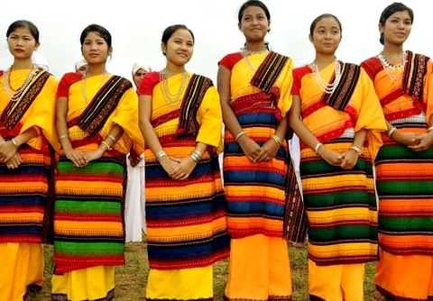 Pictures of assamese dresses for women