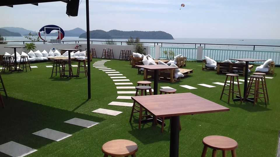 Nest Rooftop Cafe, Langkawi