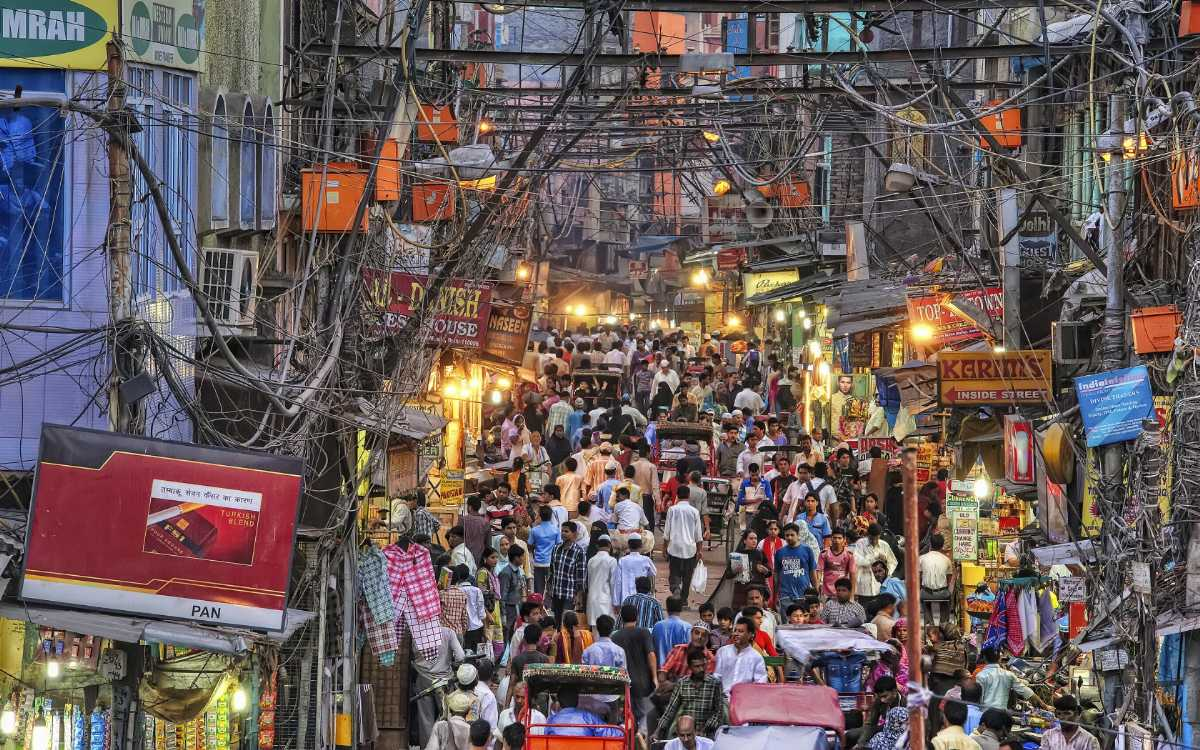 Image result for chandni chowk decorated