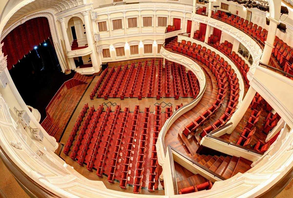Saigon Opera House Seating Plan