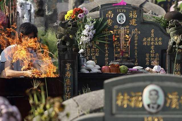 Qingming Festival, Singapore in April